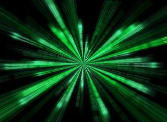 Matrix background in the form of star burst