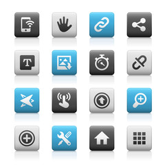 Web and Mobile Icons 10 // Matte Series