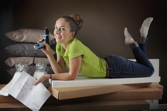 Montage de meubles en kit