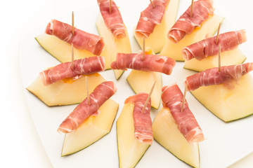 Melon and Ham, Italian Appetizers