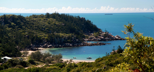 Arthur bay beach landscape, magnetic island. Queensland