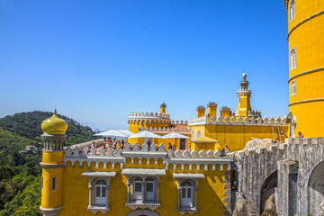 Wall Mural - Pena National Palace in Sintra, Portugal