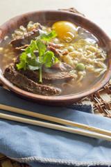 Beef Ramen Soup