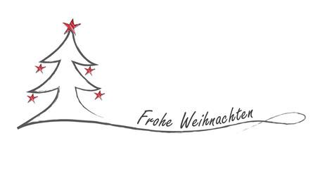 Weihnachtsgruß - deutsch