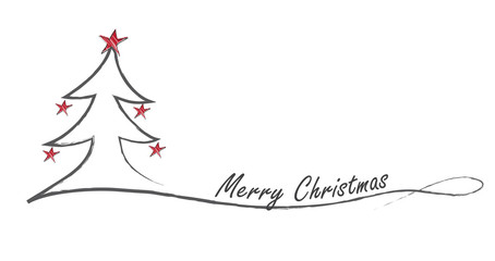 Weihnachtsgruß - englisch