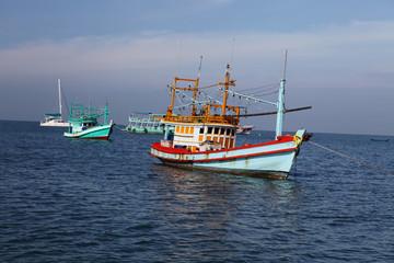 Thai fishing schooner