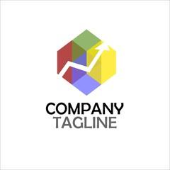 finance vector logo icon