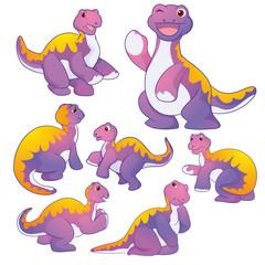 Cute Apatosaurus
