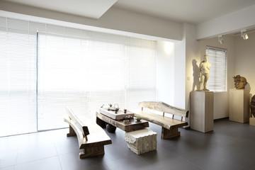 Elegant house interiors