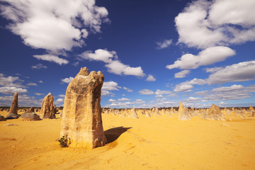 The Pinnacles Desert in Nambung National Park, Australia