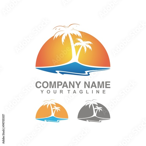 Sunset Logo Vector | www.imgkid.com - The Image Kid Has It!