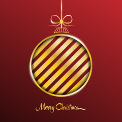 merry christmas card vector background