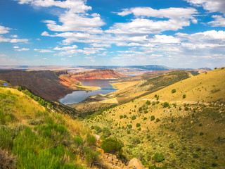 Flaming Gorge Reservoir Wyoming