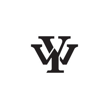 Letter W and Y monogram logo