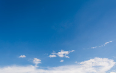 image of blue sky on day time for background
