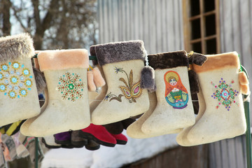 russian winter footwear