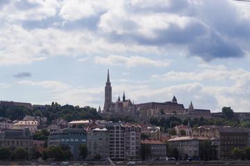 Buda Oldtown Cityscape - Budapest, Czech Republic