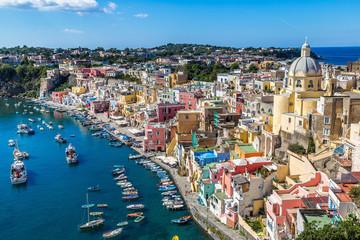 Fotobehang Napels Procida island in Italy