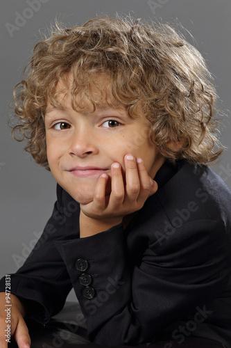 Portrait enfant gar on 6 ans fotos de archivo e im genes libres de derechos en - Foto garcon ans ...