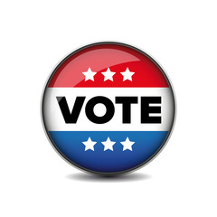 US Vote badge