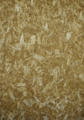 Close-up of pressboard texture.