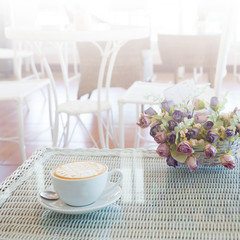 hot coffee drink caramel macchiato