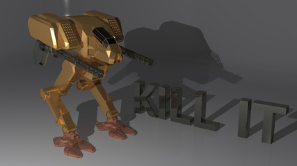 Kill it Robot