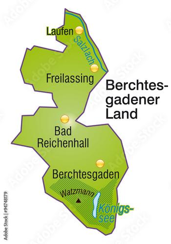 Berchtesgadener Land Karte.Karte Vom Berchtesgadener Land Stockfotos Und Lizenzfreie Vektoren