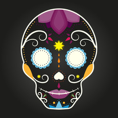 Skull. Day of the Dead