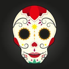 Skull. Day of the Dead