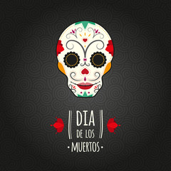 Day of the Dead. Di­a de los muertos