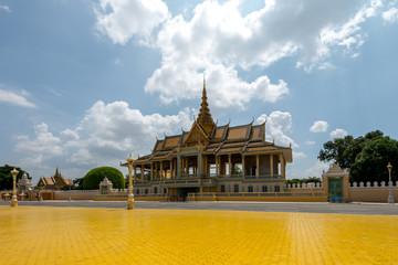 Royal Palace Phnom Penh Cambodia Sep 2015