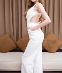 slim body of woman
