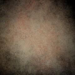 rustic orange brown grunge background with darker brown grungy border and vintage texture design