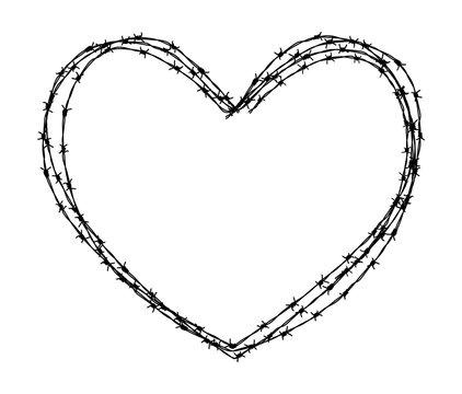 heart shape wire