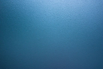 Blue Rough Frosted Glass Wall Background