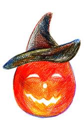 Halloween holiday pumpkin