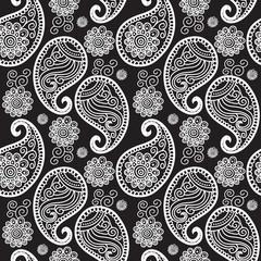 Seamless pattern turkish cucumber