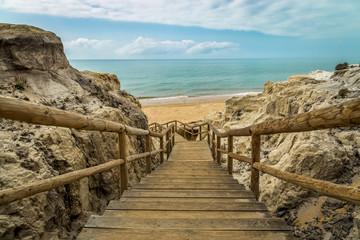Fototapeta Mazagon, Playa de Cuesta Maneli