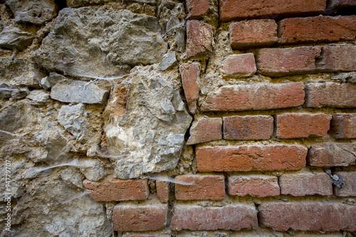 quot alte mauer aus ziegeln und steinen quot stockfotos und lizenzfreie bilder auf fotolia bild