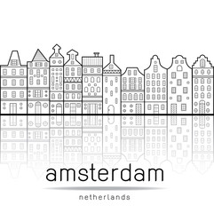 Amsterdam houses style Netherlands