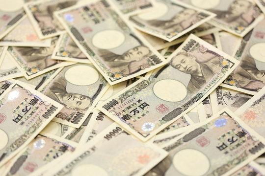 お金イメージ 一万円札