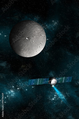 Wall mural Ceres.v - Elements of this image furnished by NASA.