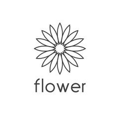 sunflower vector design template