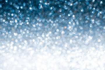Blue glitter christmas winter shiny abstract background