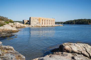 Fort Popham in Maine, USA