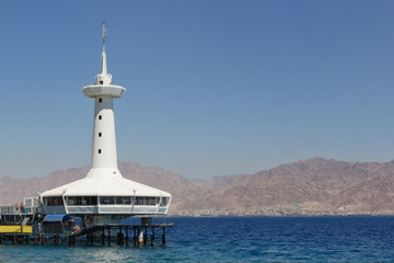 marine observatory in Eilat on the Red Sea