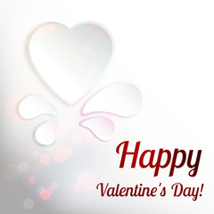 Vector Valentine's heart.