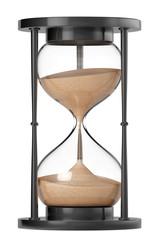 Closeup Sand hourglass