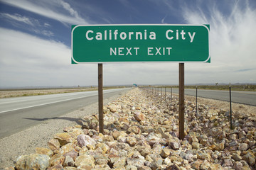 The intersection of California State Highways 46 and 41